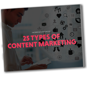 25 Types  of Content Marketing eBook
