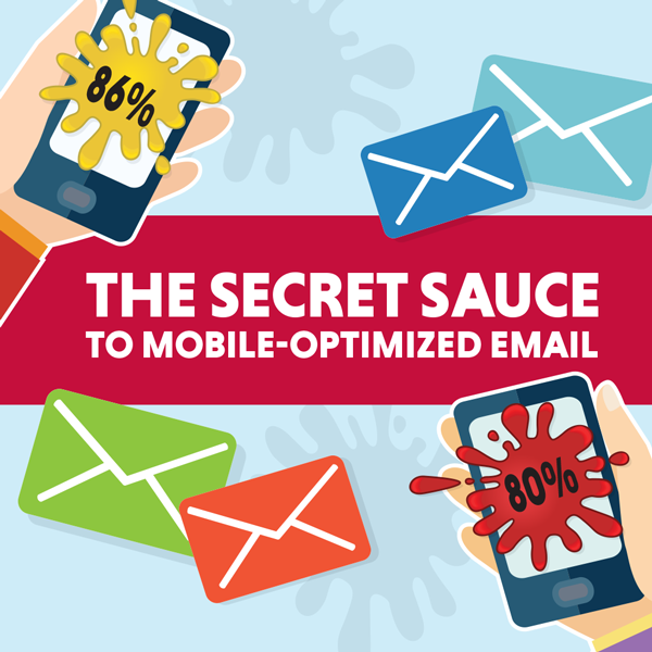 Email Mobile Optimization Infographics