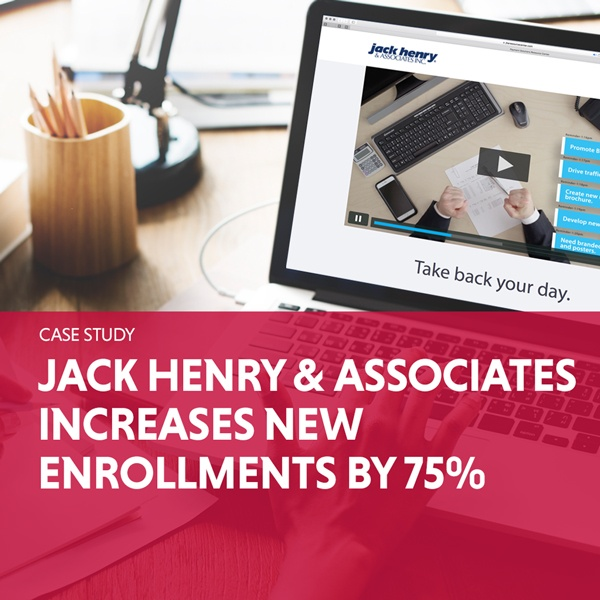 Jack Henry & Associates Increase New Enrollments By 75%