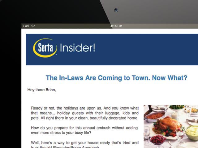 Serta newsletter